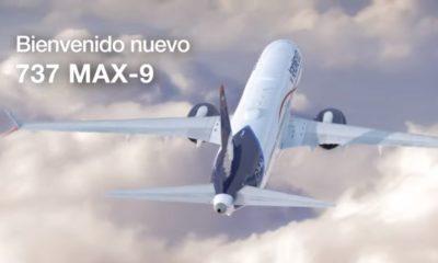 Aeroméxico estrena nuevos Boeing 737 Max 9