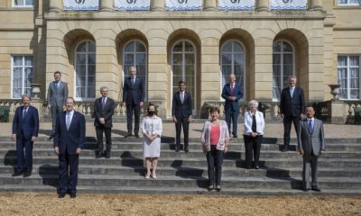 Reunión ministros de Finanzas del G7 / https://twitter.com/RishiSunak