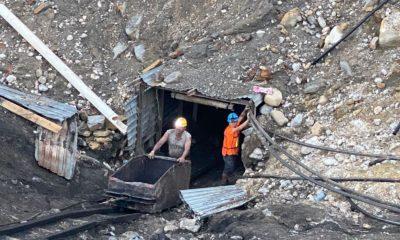 Accidente en mina de Micarán / @CNPC_MX / rescate de mineros
