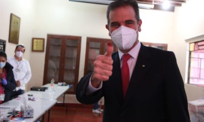 Lorenzo Córdova en las elecciones del 6 de junio de 2021 / @lorenzocordovav