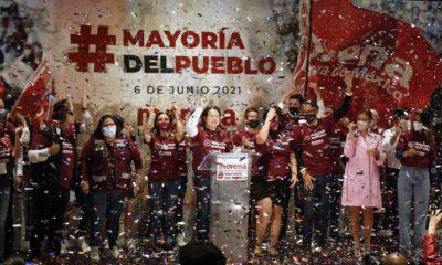 Mario Delgado se adelanta a cantar victoria de Morena; se llevó 12 gubernaturas, asegura