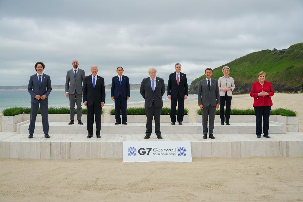 G7 presiona a China en libre comercio y derechos humanos