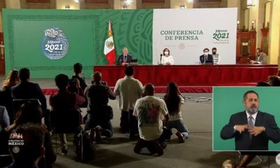 Cierre de conferencias vespertinas sobre Covid-19 / Secretaría de Salud