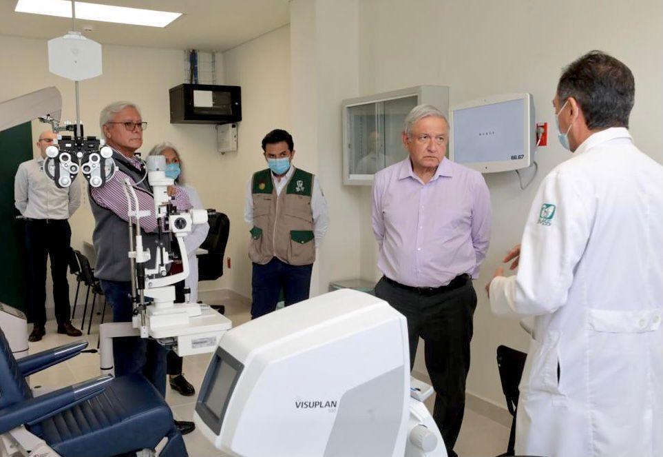 Inauguración de hospital IMSS-Bienestar en San Quintín / IMSS