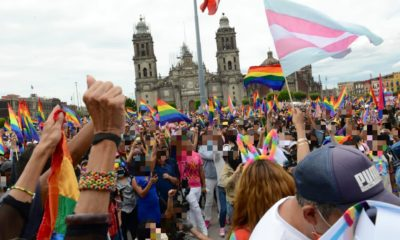 Marcha del orgullo LGBT+ 2021 / @CDHCMX