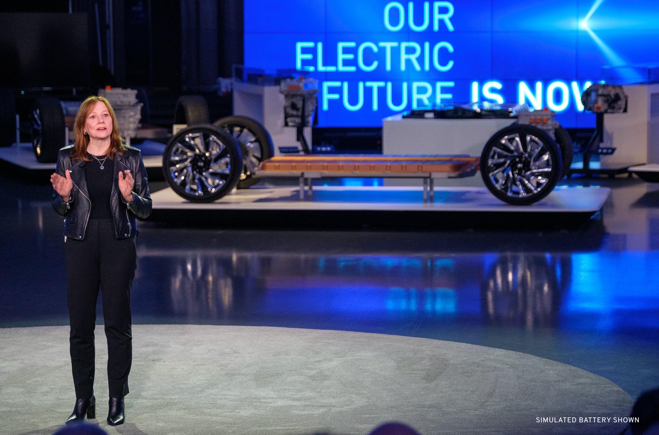 Mary Barra, directora de GM / GM