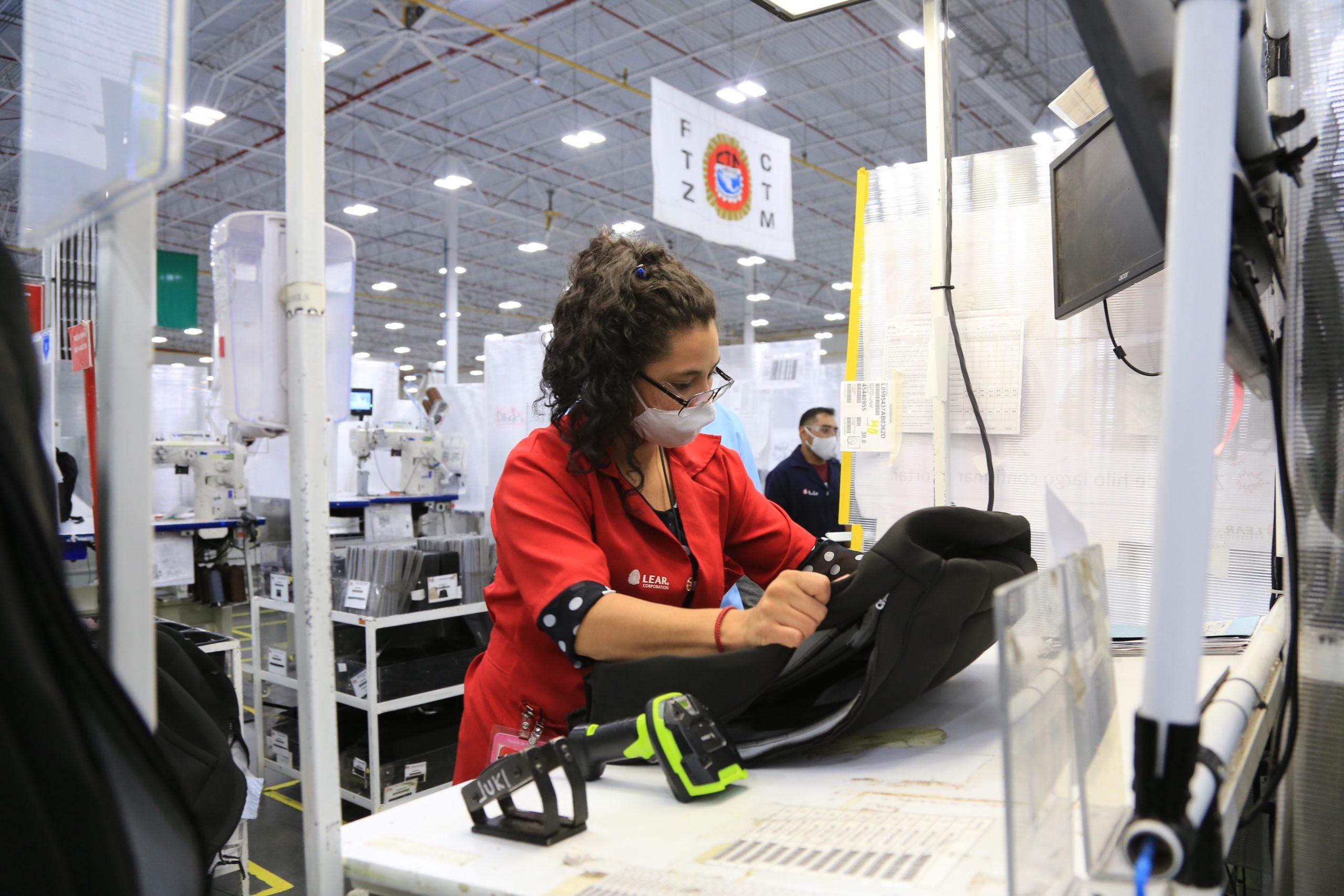 Planta de Lear Corporation en Zacatecas / @gobiernozac / crecimiento económico