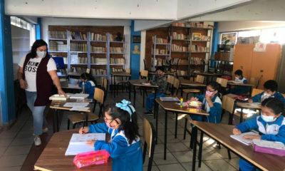 Seguirán clases en CDMX a pesar de contagios en primera semana de reapertura, clases presenciales