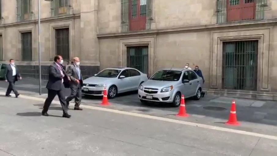 Carlos Slim se reunió con el presidente Andrés Manuel López Obrador y la jefa de gobierno de la CDMX, Claudia Sheinbaum Pardo / @Milenio