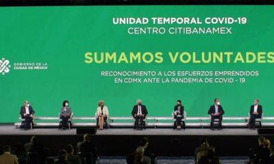 Clausura de hospital temporal en Centro Citibanamex