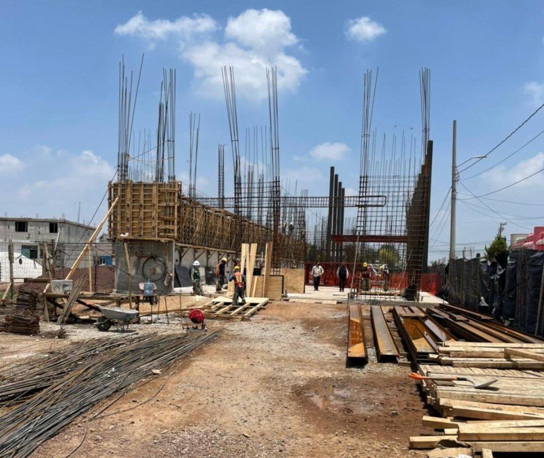 Obra en construcción / Sedatu