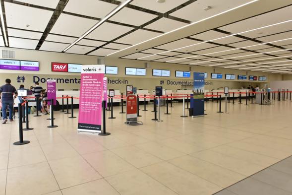 Aumenta tráfico de pasajeros en aeropuerto de SLP