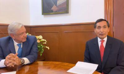 Rogelio Ramírez de la O y Andrés Manuel López Obrador