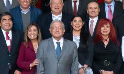 AMLO se reúne con gobernadores electos de Morena; les pide combate a la inseguridad