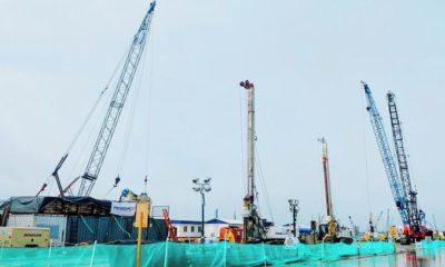 Construcción de la Refinería Dos Bocas
