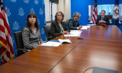 Antony Blinken se reunió con la dirigencia de la AFL-CIO / @SecBlinken