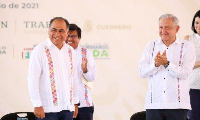 Andrés Manuel López Obrador de gira en Guerrero / @HectorAstudillo