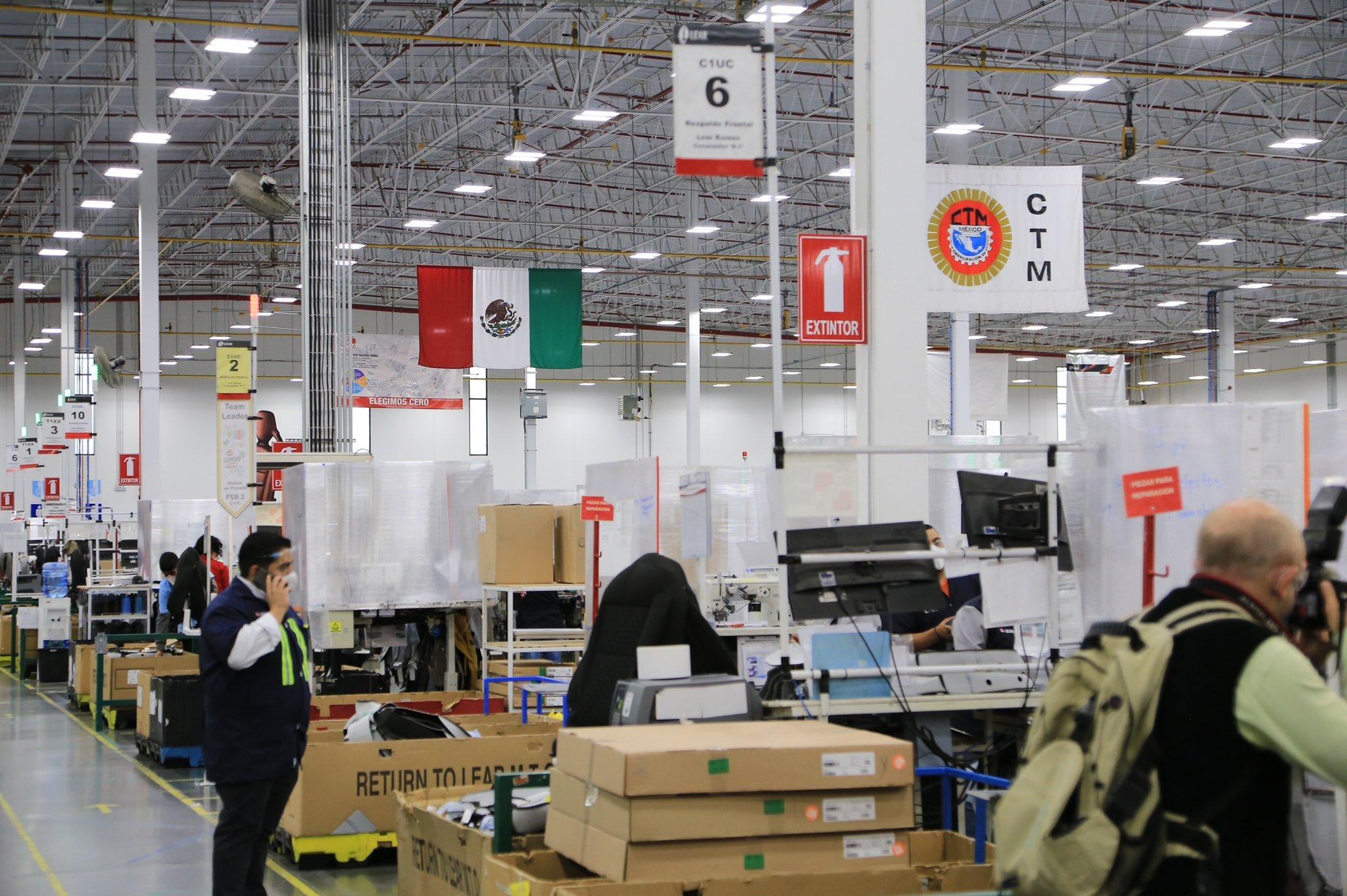 Lear Corporation, planta Zacatecas / @gobiernozac