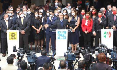 PRI, PAN y PRD interpondrán denunica en OEA y CIDH por las elecciones del 6 de junio / @AccionNacional