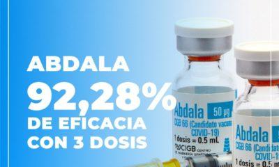Vacuna Abdala, fabricada en Cuba / @DiazCanelB