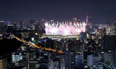 Clausura de Juegos Olímpicos de Tokio 2020 / @Tokyo2020es