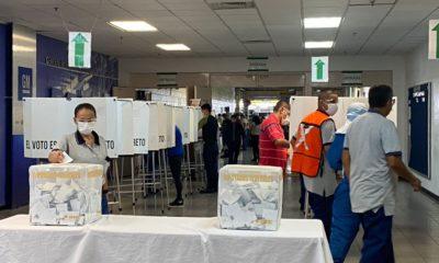 Votación en GM, planta Silao / @STPS_mx