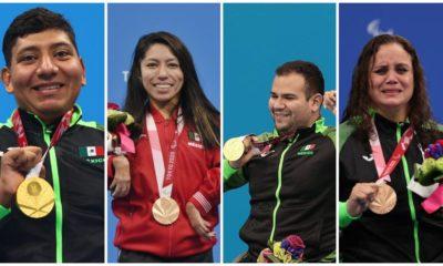 Medallistas mexicanos en Juegos Paralímpicos de Tokio 2020 / @CONADE