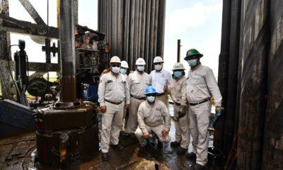Trabajadores petroleros / @Pemex