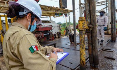 Producción de hidrocarburos / @Pemex