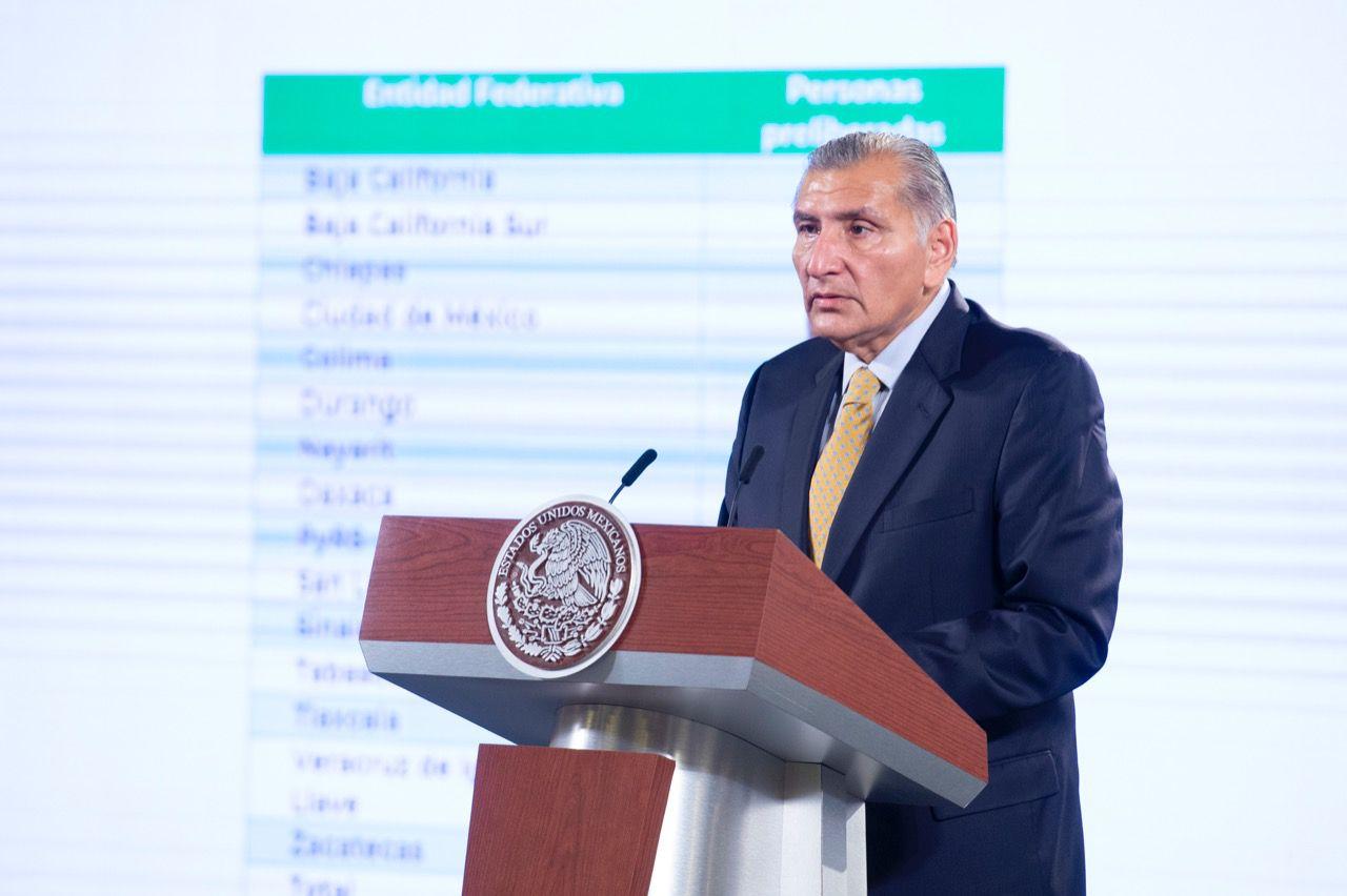 Adán Augusto López Hernández / Segob