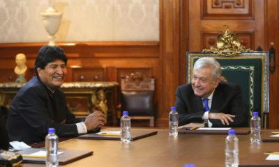 Evo Morales y Andrés Manuel López Obrador / Presidencia de la República