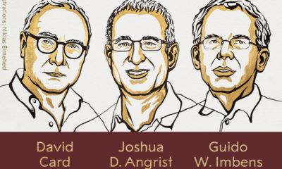 Ganadores del premio Nobel de Economía 2021 / @NobelPrize