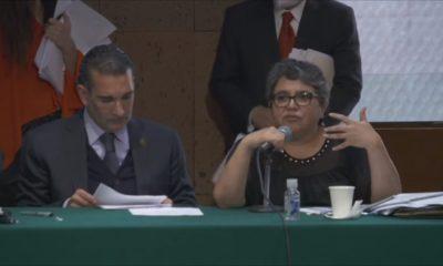 Raquel Buenrostro, jefa del SAT, en comparecencia con diputados
