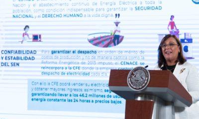 Rocío Nahle / Presidencia de la República