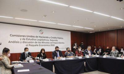 Presentación del paquete económico 2022 en el Senado / @GabrielYorio
