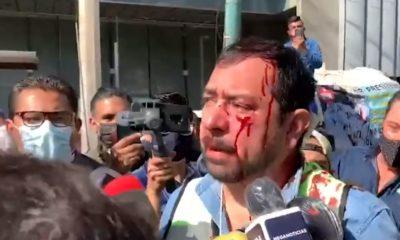 Manifestantes gaseros / @lajornadaonline