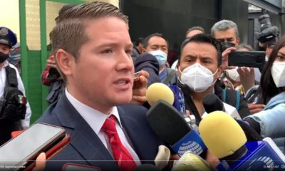 Cristopher Estupiñán, abogado de víctimas del accidente en la Línea 12 del Metro