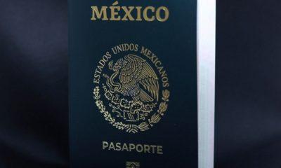 pasaporte electrónico de México / SRE