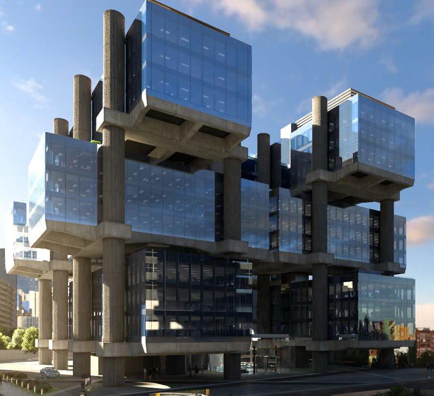 Inmobiliaria de slim en espa a vende edificio de oficinas for Oficinas western union madrid
